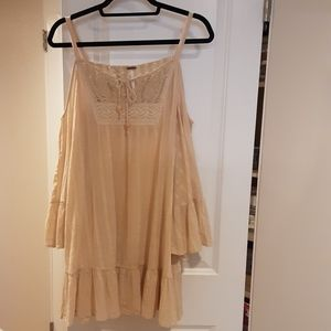 Free People Cold Shoulder Angel Tunic